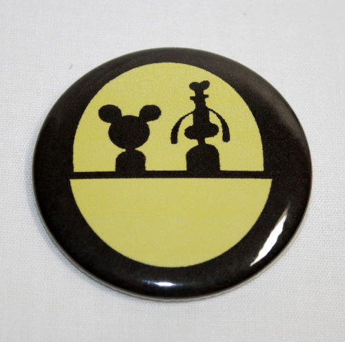 DOOMBUGGY MAGNET Mickey Mouse and Goofy Haunted Mansion