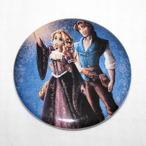 DISNEY FAIRYTALE DESIGNER DOLL Magnet Tangled Rapunzel Flynn Fairy Tale Couple