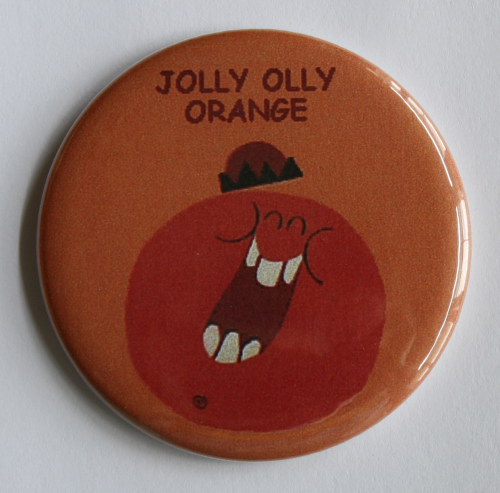 Funny Face Jolly Olly Orange