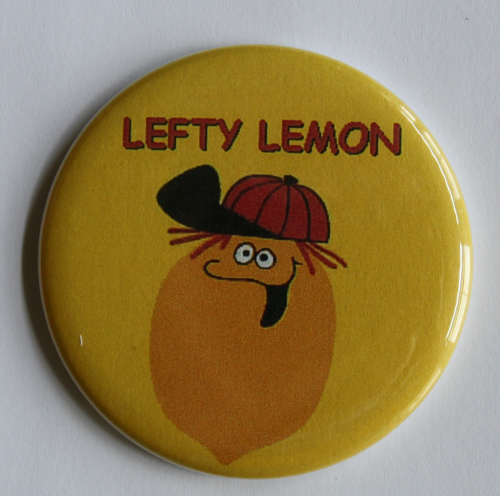 Funny Face Lefty Lemon