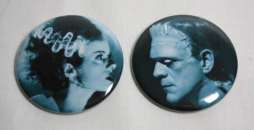 FRANKENSTEIN AND BRIDE Magnet Set Boris Karloff Classic Film