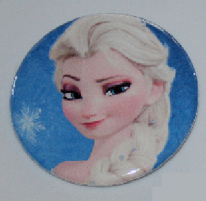 Disney Frozen Elsa Pinback Button