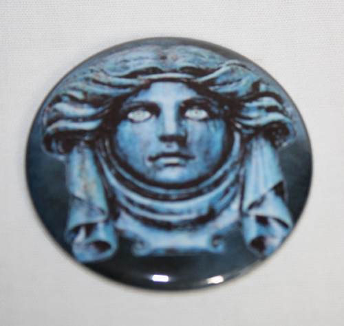 MADAME LEOTA GRAVE MAGNET Disney Haunted Mansion Disneyland Vintage Ghost Art