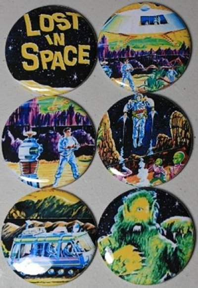 Lost in Space Vintage Lunch Box Magnets