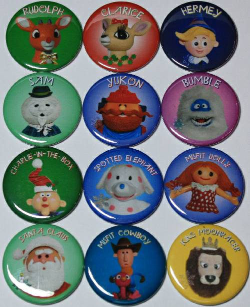Rudolph and Island of Misfit Toys Magnet Set