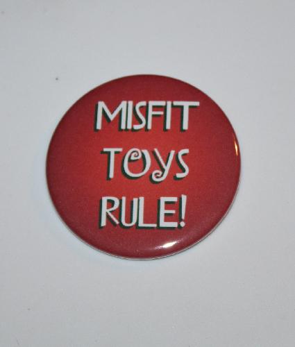Misfit Toys Rule Magnet