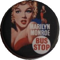 BUS STOP MAGNET Vintage Marilyn Monroe Cinema Film Movie Poster Art