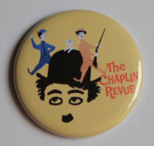 CHARLIE CHAPLIN REVUE MAGNET Vintage Classic Film Movie Poster Art