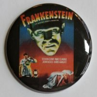 FRANKENSTEIN MAGNET SciFi Vintage Horror Classic Movie Boris Karloff Art