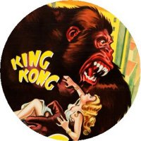 KING KONG MAGNET Vintage Movie Poster Art Fay Wray Classic Science Fiction