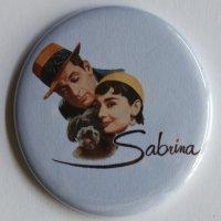SABRINA MAGNET Vintage Audrey Hepburn Classic Film Movie Poster Art