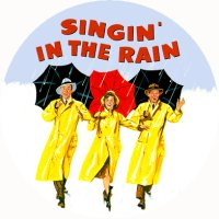 SINGIN IN THE RAIN MAGNET Vintage Classic Film Movie Poster Art Singing