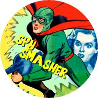 SPY SMASHER MAGNET Vintage Movie Poster Art Spysmasher Classic Super Hero Serial