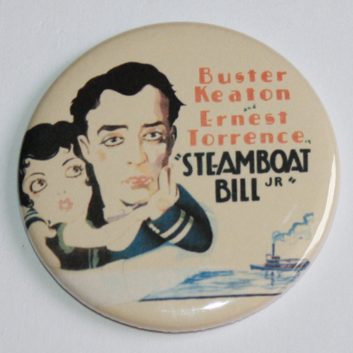 STEAMBOAT BILL JR BUSTER KEATON MAGNET Vintage Classic Film Movie Poster Art