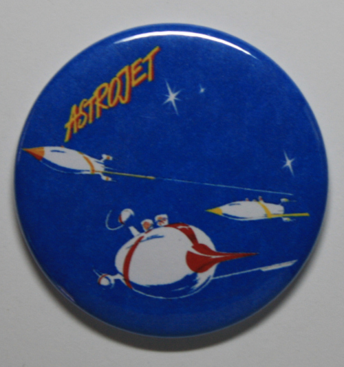 ASTROJET MAGNET Disneyland Disney Poster Vintage Attraction Astro Jet Art
