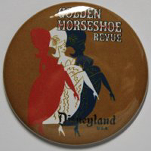 GOLDEN HORSESHOE REVUE MAGNET Disneyland Disney Poster Vintage Art Frontierland
