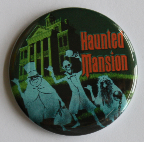 HAUNTED MANSION MAGNET Disneyland Disney Poster Vintage Art Hitchhiking Ghosts