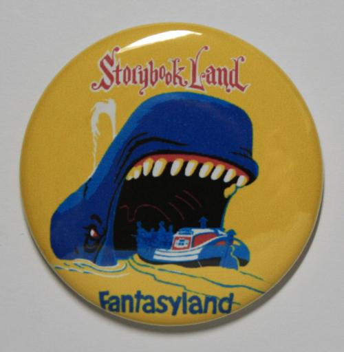 STORYBOOKLAND MAGNET Disneyland Disney Poster Vintage Art Storybook Land