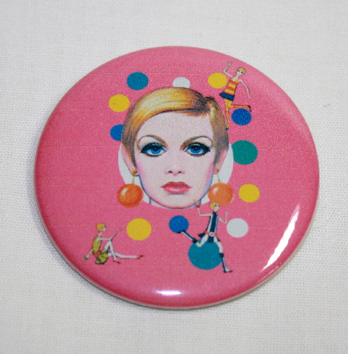 TWIGGY POP ART MAGNET London Super Model