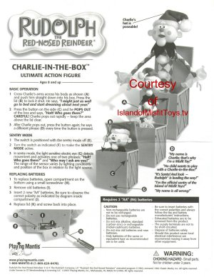 Charlie in the Box Ultimate Action Figure
