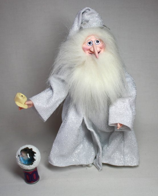 Winter Warlock Toy from Rankin/Bass Santa Claus is Coming to Town