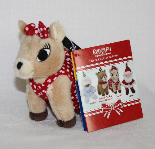 Clarice Build a Bear Rudolph the Red-Nosed Reindeer