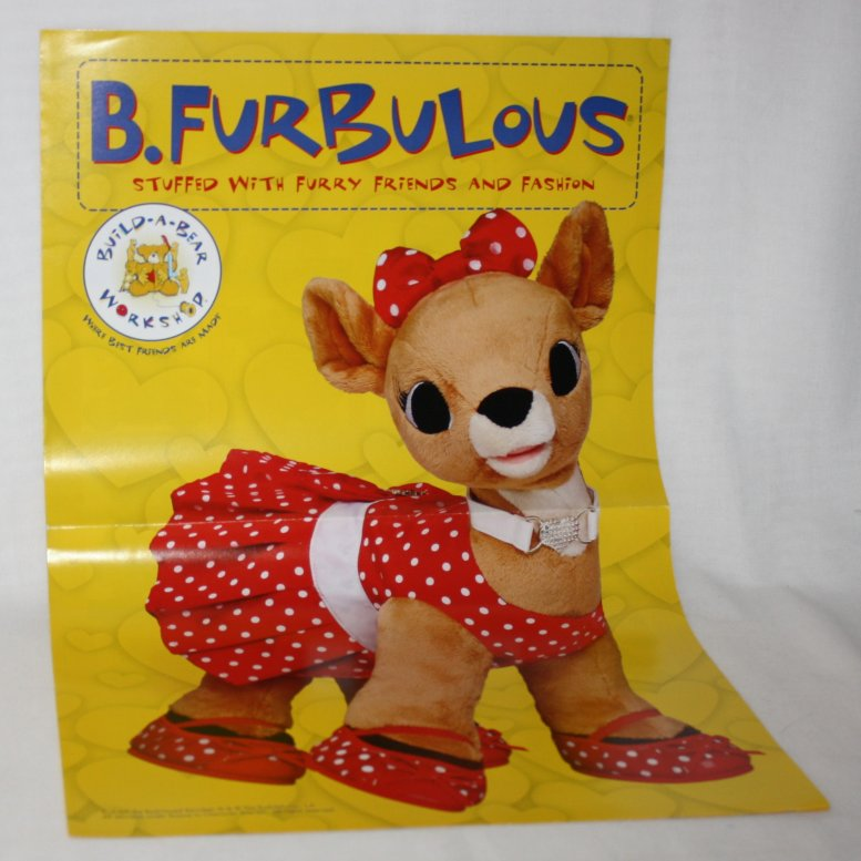 Clarice Poster from Rudolph the Red-Nosed Reindeer Build a Bear