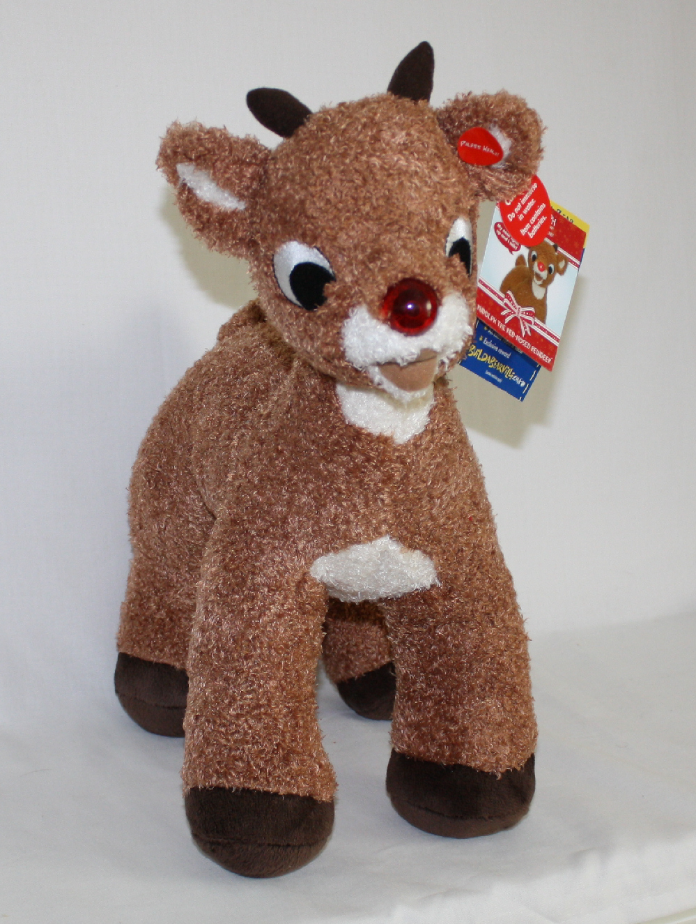 Rudolph Red-Nosed Reindeer Build a Bear Plush Toy
