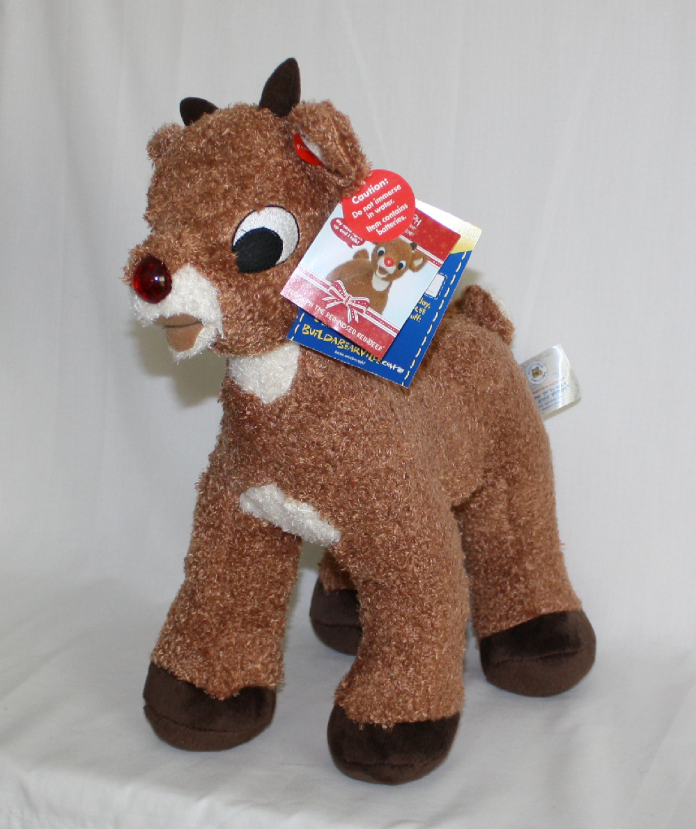 Rudolph Build a Bear Plush Toy