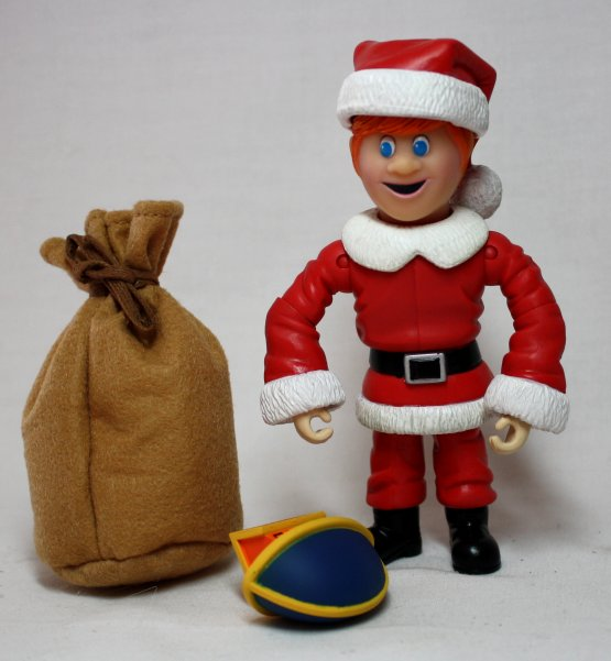 Kris Kringle Action Figure Toy from Santa Claus is Comin to Town