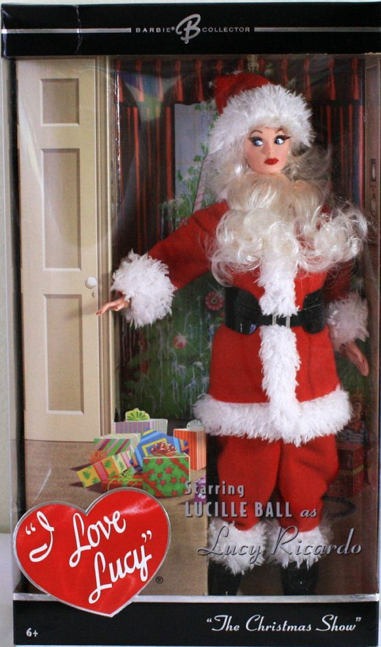 i love lucy christmas episode lucy as santa claus doll - I Love Lucy Christmas Episode