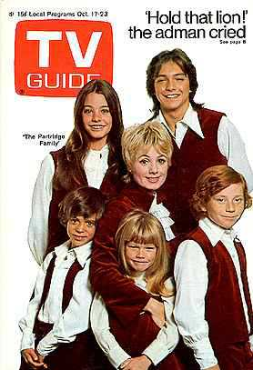 Image result for the partridge family tv guide