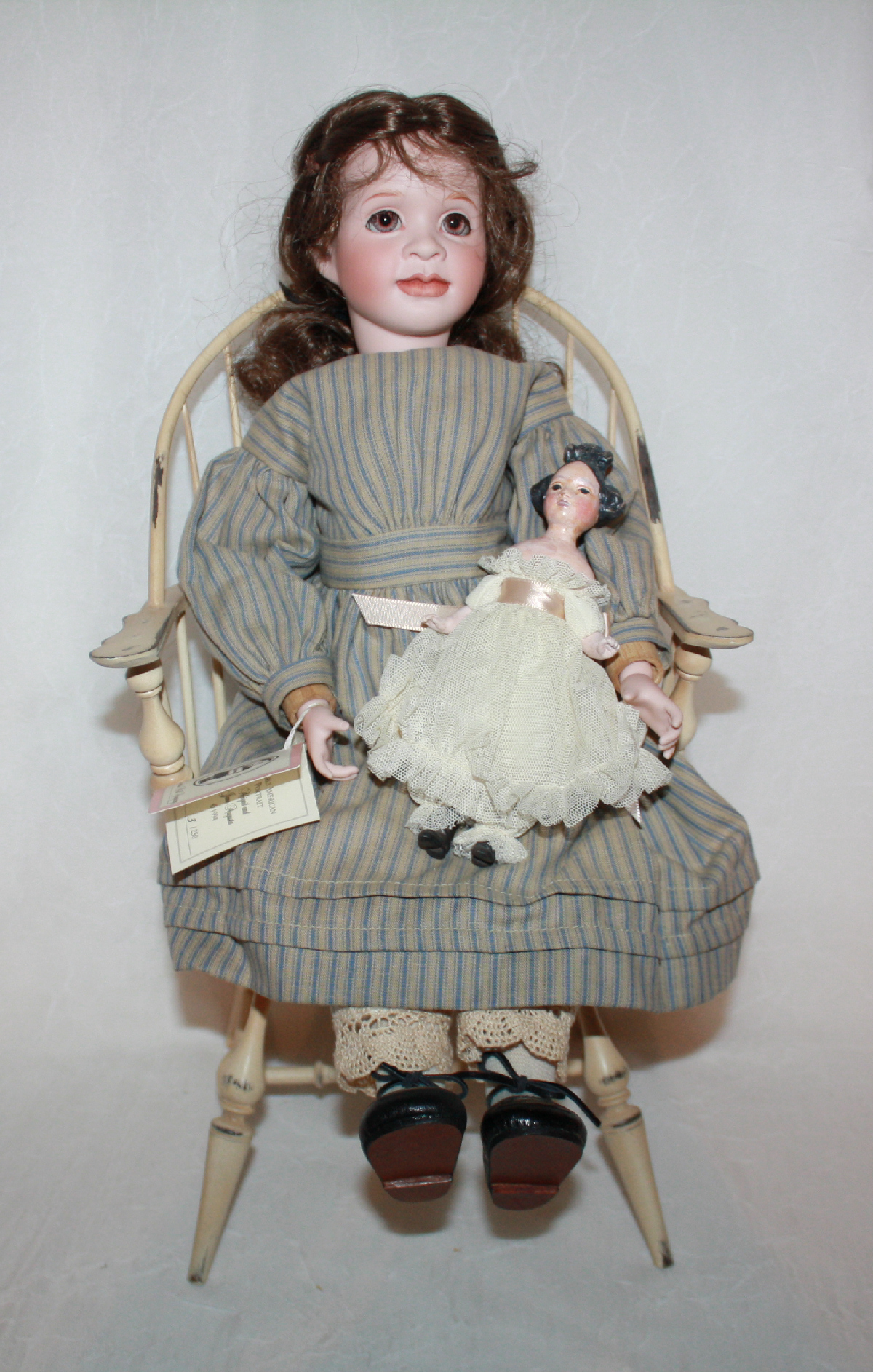 Wendy Lawton Abigail and Jane Augusta Doll