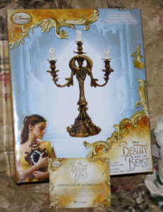 Disney Movie BEAUTY AND THE BEAST LUMIERE CANDELABRA Live Action Movie Limited Edition LE 2000