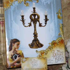 Disney Lumiere Limited Edition Figurine of Only 2000