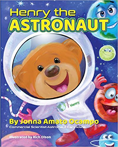 Henry the Astronaut narrated by Cheri Gardner, Written by NASA Scientist Astronaut Candidate Jonna Ocampo